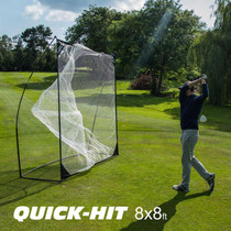 QUICKPLAY QuickPlay Quick Hit - Portable Sports Hitting Net - 8 x 8 Ft