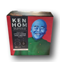 Ken Hom Ken Hom KH431041 Excellence Non-Stick Wok Set with Lid and Tools