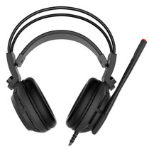 MSI DS502 7.1 Virtual Surround Sound Gaming Headset 'Black with Ambient MSI Dragon Logo