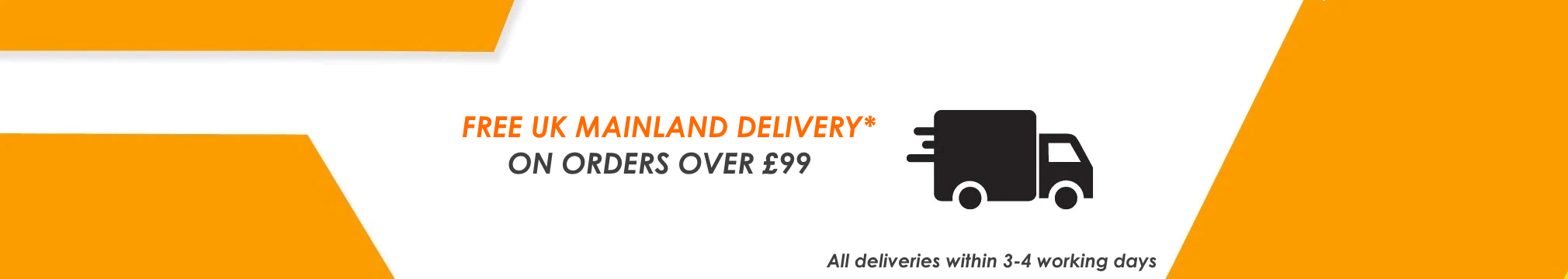 Free Delivery on Qualifying orders