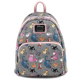 Loungefly Disney Cats AOP Mini Backpack WDBK1313 Front