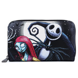 Loungefly Nightmare Before Christmas Jack & Sally Simply Meant To Be Wallet WDWA1353