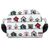 Loungefly Crossbody: Disney Dog Houses AOP WDTB2031 Front