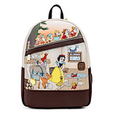 Loungefly Snow White And The Seven Dwarfs Multi Scene Mini Backpack