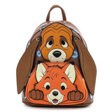 Loungefly Disney The Fox And The Hound Todd And Copper Cosplay Mini Backpack