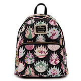 Loungefly Disney Villains Pastel Flames Mini Backpack