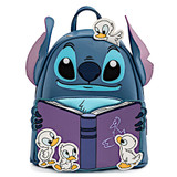 Loungefly Stitch Duckies Story Time Mini Backpack