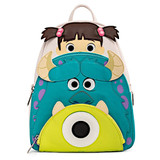 Loungefly PIXAR Monsters Inc Boo Mike Sulley Cosplay Mini Backpack