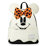 Loungefly Disney Halloween Ghost Minnie Mouse Mini Backpack