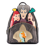 Loungefly Lady Tremaine With Evil Stepsisters Mini Backpack Disney Villains Scene