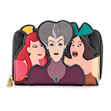 Loungefly Lady Tremaine With Evil Step Sisters Wallet Disney Villains Scene