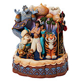 Jim Shore Disney Traditions Carved By Heart Aladdin Figurine