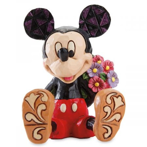 Figurine: Mickey Mouse w/Flowers Mini (Jim Shore)