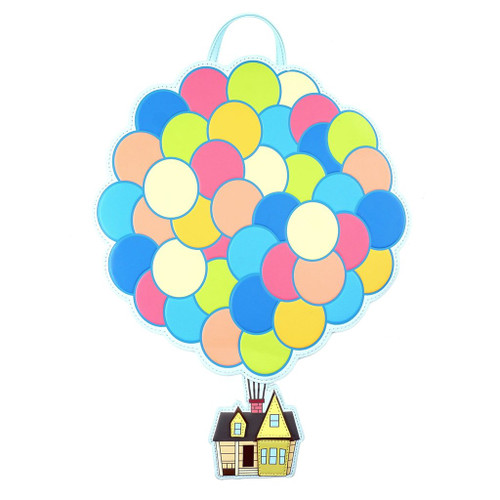 Loungefly PIXAR Up Floating Balloon House Mini Backpack WDBK0947