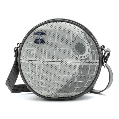 Loungefly Star Wars Death Star Pin Trader Crossbody STTB0182