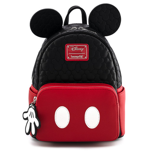 Loungefly Mickey Mouse Quilted Oh Boy Mini Backpack WDBK1204
