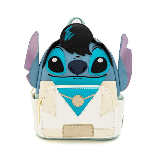 Loungefly Mini Backpack: Lilo & Stitch Elvis Stitch Cosplay WDBK0985