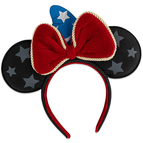 Loungefly Ear Headband: Fantasia Sorcerer Mickey WDHB0083
