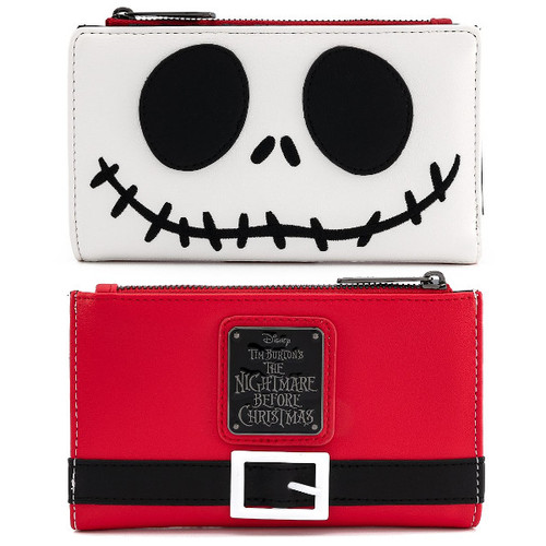 Loungefly Wallet: Nightmare Before Christmas Santa Jack Skellington WDWA1351