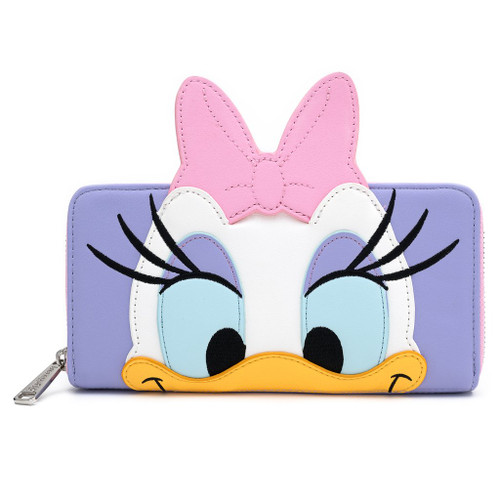 Loungefly Wallet: Sensational Six Daisy Duck Cosplay WDWA1284