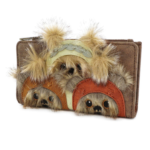 Loungefly Wallet: Star Wars Ewok Trio STWA0121