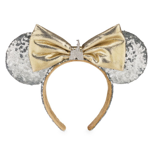 Disney Parks Ear Headband: Minnie Mouse Cinderella Castle