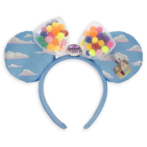 Disney Parks Ear Headband: Minnie Mouse Up Floating House