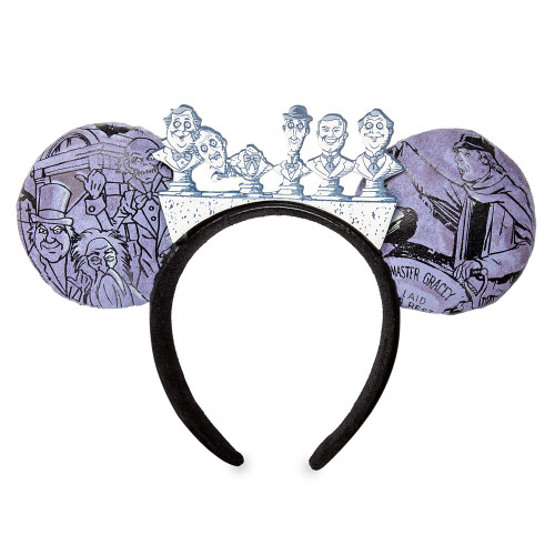 Disney Parks Ear Headband: Haunted Mansion Graveyard