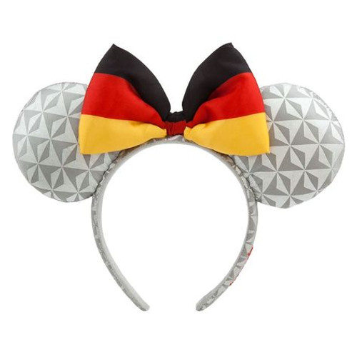 Disney Parks Ear Headband: Minnie Mouse Epcot Germany