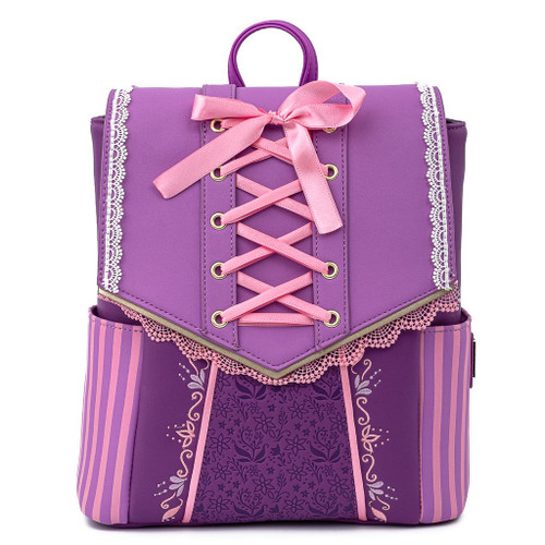 Loungefly Mini Backpack: Tangled Rapunzel Cosplay WDBK1442 Front