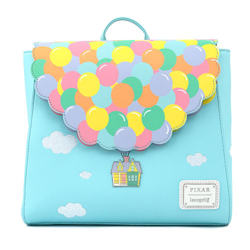 Loungefly Mini Backpack: Up Floating Balloon House (Flap) WDBK1390 Front