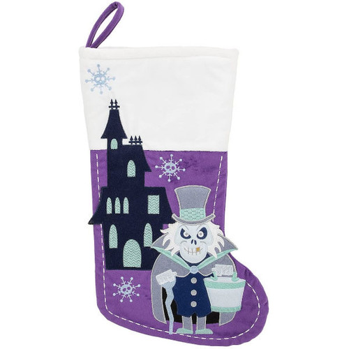 Stocking: Haunted Mansion Hatbox Ghost