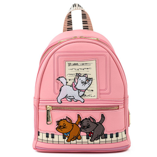 Loungefly Mini Backpack:  Aristocats Piano Kitties WDBK1387