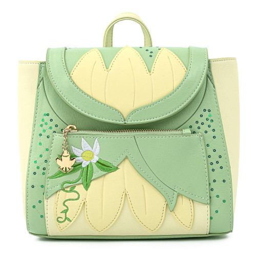 Loungefly Mini Backpack: Princess Tiana Cosplay WDBK1363 Front