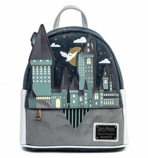 Loungefly Mini Backpack: Harry Potter Hogwarts Castle HPBK0121 Front