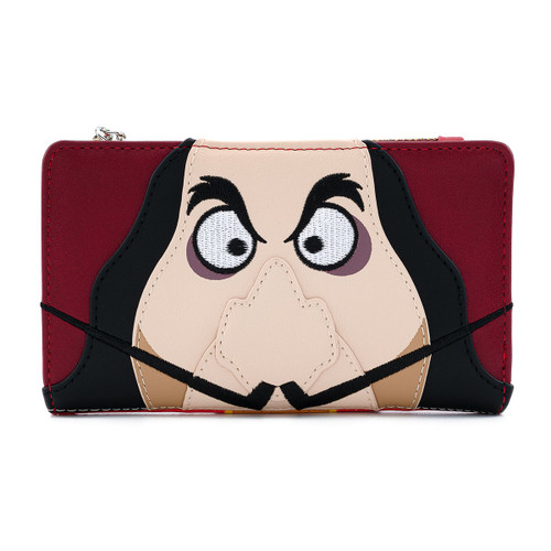 Loungefly Wallet: Peter Pan Captain Hook Cosplay Disney Villains Front