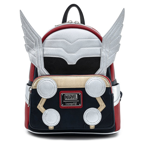 Loungefly Mini Backpack: MARVEL Thor Classic Cosplay