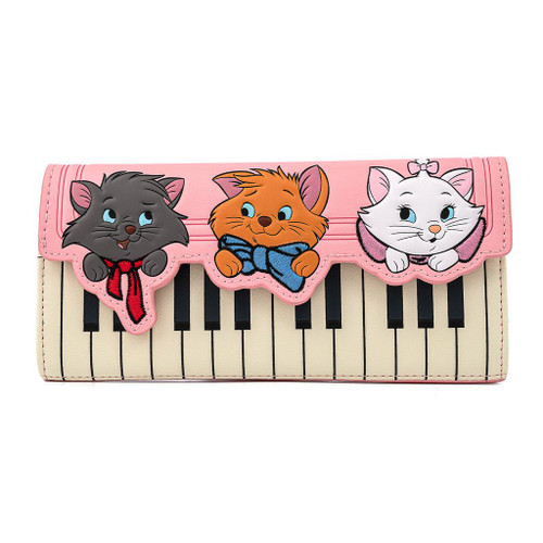 Loungefly Wallet: Aristocats Piano Kitties
