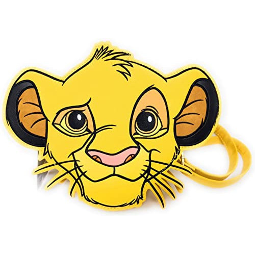 Loungefly Crossbody: Lion King Simba Figural Head