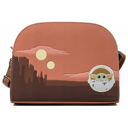 Loungefly Crossbody: Star Wars Baby Yoda/Mandalorian The Child Cradle