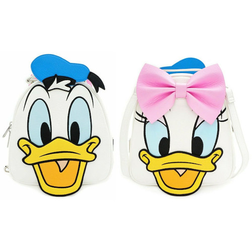 Loungefly Mini Backpack: Sensational Six Donald Duck/Daisy Duck (Reversible) WDBK0939