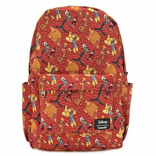 Loungefly Backpack: Emperor's New Groove AOP (Nylon) WDBK0964 Front
