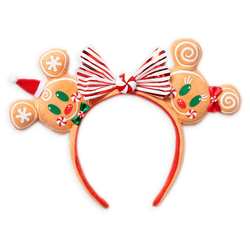 Disney Parks Ear Headband: Christmas - Gingerbread