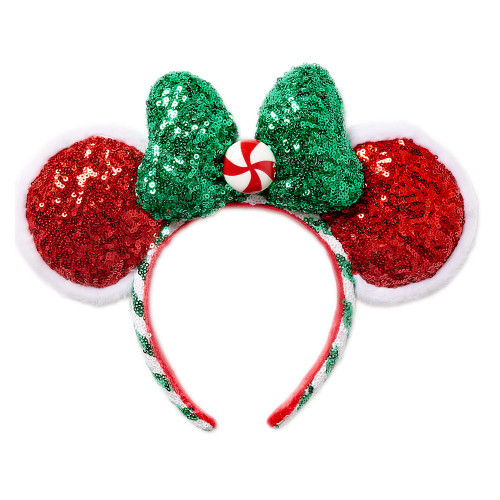 Disney Parks Ear Headband: Christmas - Peppermint