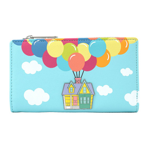 Loungefly Wallet: Up Balloon House WDWA1488 Front