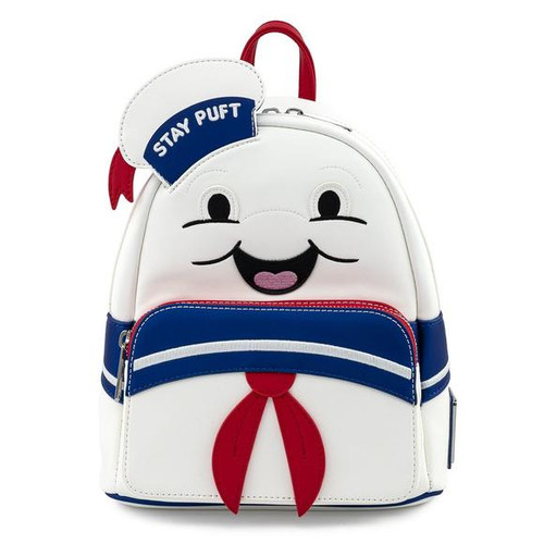 Loungefly Mini Backpack: Ghostbusters Stay Puft Cosplay GBBK0005