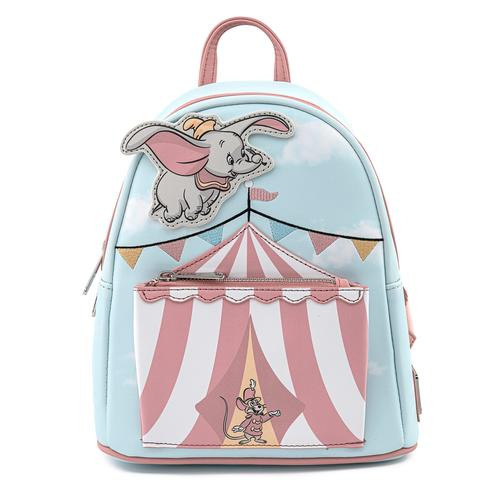 Loungefly Mini Backpack: Dumbo Flying Circus Tent WDBK1475