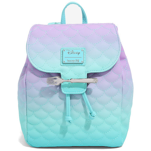 Loungefly Mini Backpack: Little Mermaid Ombre Scales WDBK1473