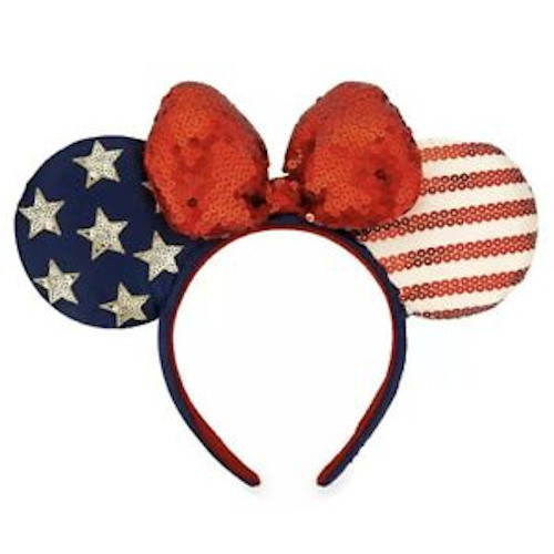"Disney Parks Ear Headband: Americana ""Land That I Love"""
