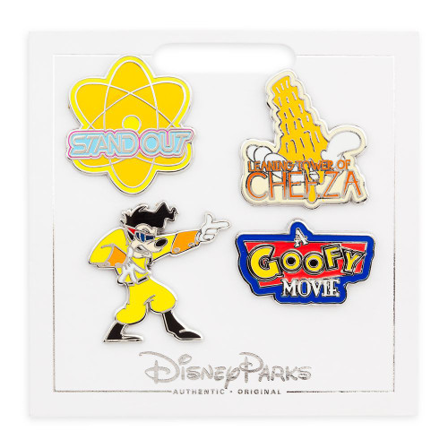 Disney Parks Pin Set: Goofy Movie